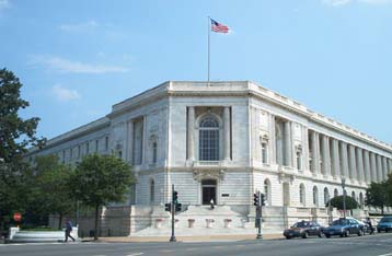 Senate Office Buildings (Russell, Dirksen, Hart)